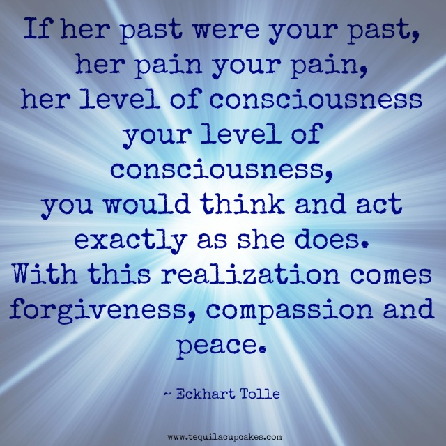 if her past were your past her pain your pain eckhart tolle
