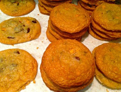 sea salt butterscotch chocolate chip cookies 1