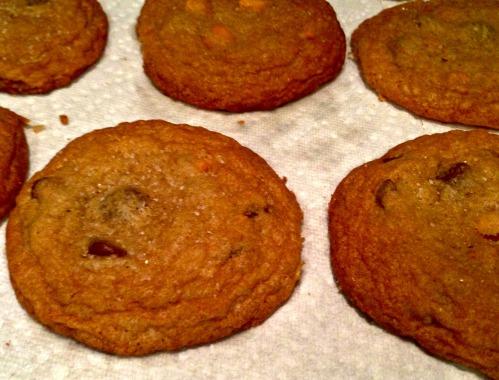 sea salt butterscotch chocolate chip cookies 2
