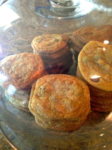 sea salt butterscotch chocolate chip cookies 3
